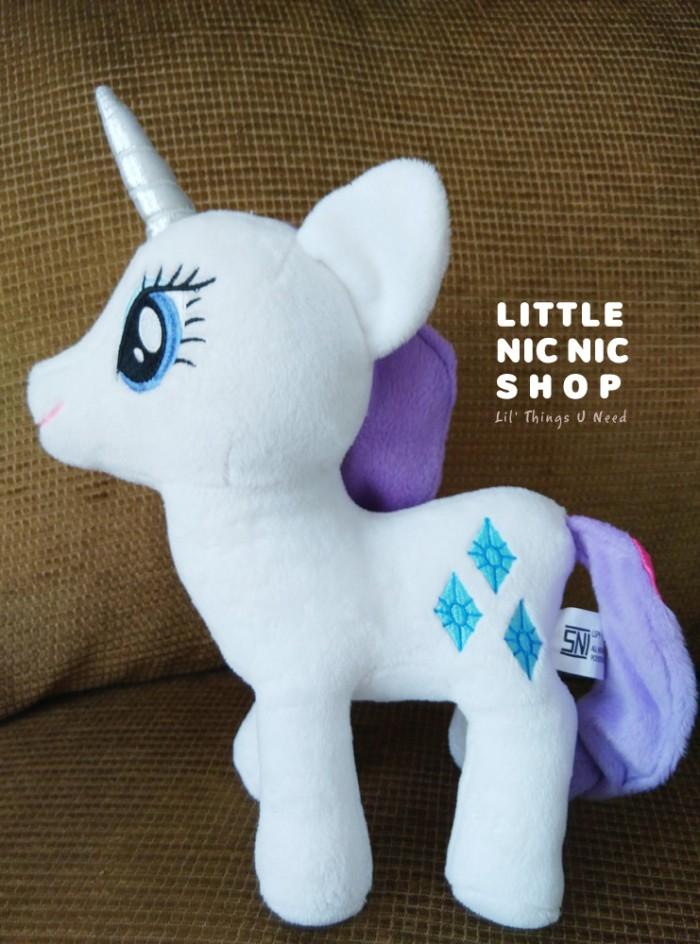 harga Boneka my little pony - rarity - rattle plush toy Tokopedia.com
