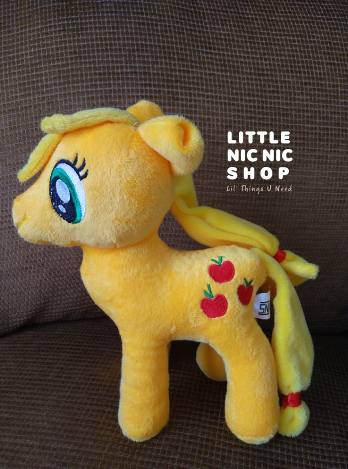 harga Boneka my little pony - apple jack - rattle plush toy Tokopedia.com