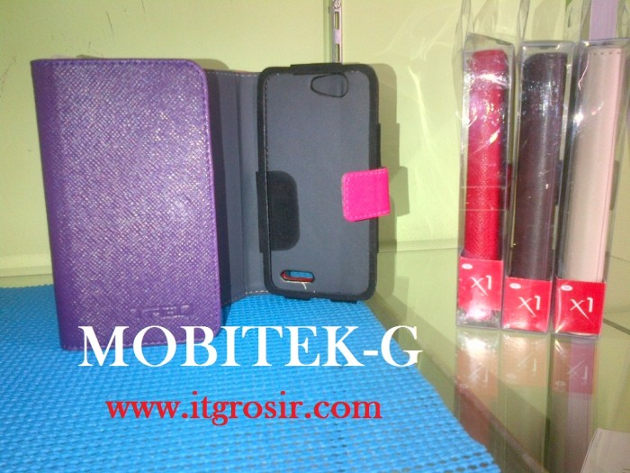 Leathercase smartphone treq x1