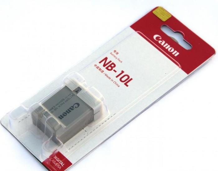 harga Battery/ baterai/ batre canon nb-10l powershot sx40 hs sx50 hs g15 Tokopedia.com