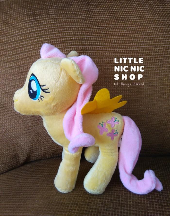 harga Boneka my little pony - fluttershy - rattle plush toy Tokopedia.com
