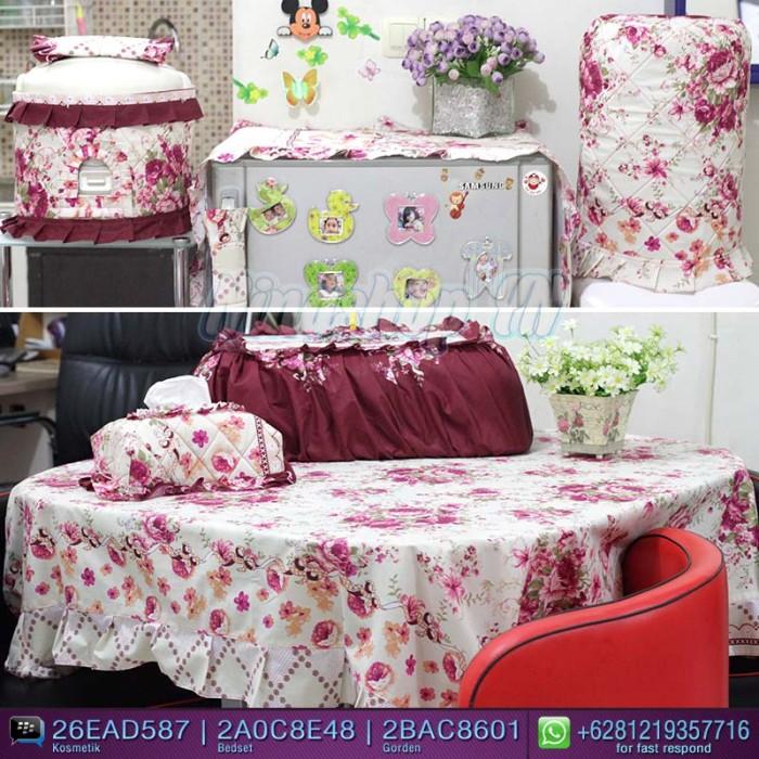 Jual Full Set Dapur Motif English Rose