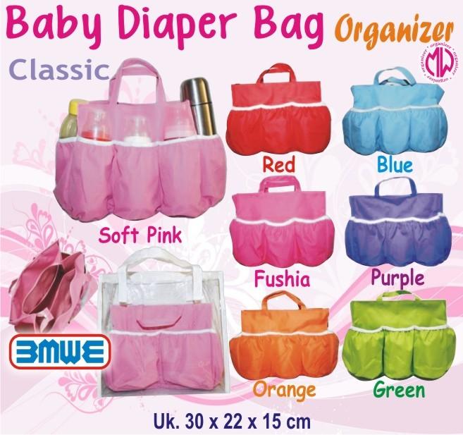 harga Baby diaper bag polos organizer (tas botol susu bayi/balita) Tokopedia.com