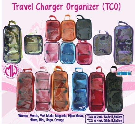 harga Travel charger organizer tco isi 2 charger ( hp laptop. netbook ) Tokopedia.com