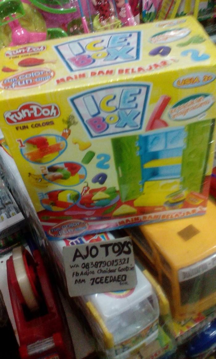 Play dough fun doh ice box