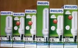 Lampu philips 18w essensial putih/ cool daylight/ plc lilin 18 w murah