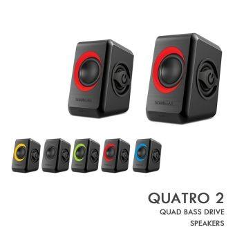 Sonicgear Speakers Quatro 2 Hitammerah Daftar Harga Terlengkap Source · Sonic Gear Quatro 2 Merah
