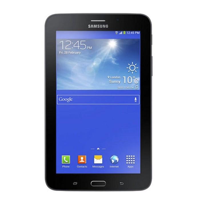 harga Samsung galaxy tab 3 v (sm-t116nu) - black - 7.0  - quad core Tokopedia.com
