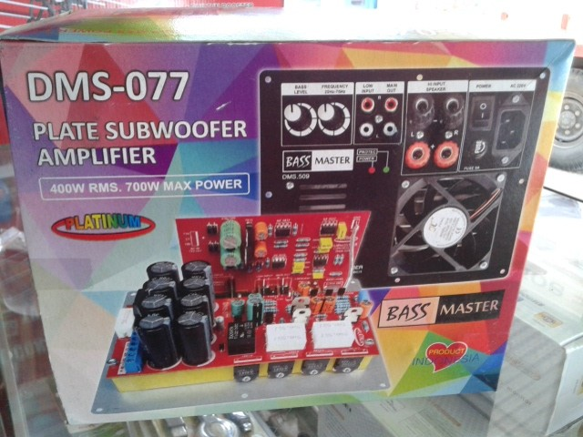 harga Power subwoofer super dms-077 Tokopedia.com