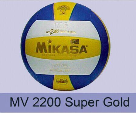 Bola Voli MIKASA MV 2200 Super Gold (ORIGINAL)