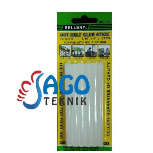 harga Hot melt glue stick isi 12 pcs ukuran 5/164inch Tokopedia.com