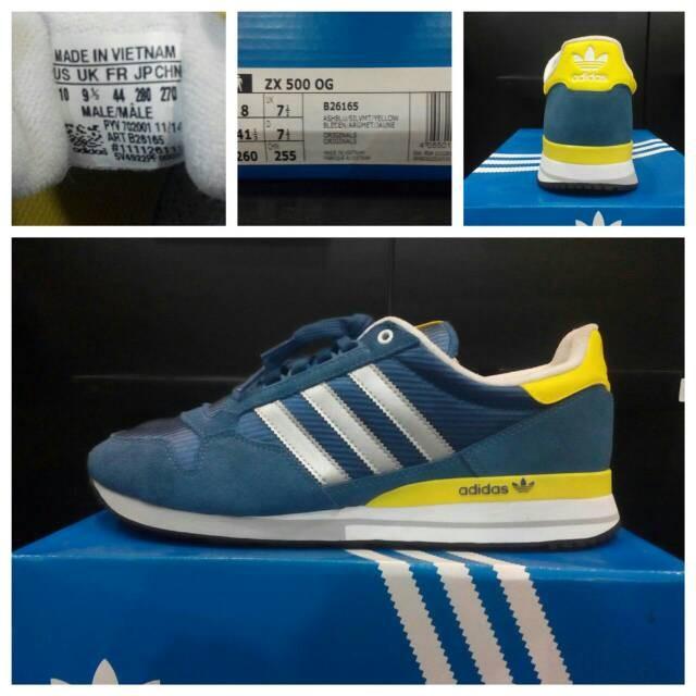Adidas Zx 500 Precios Og Azul hek9iGx
