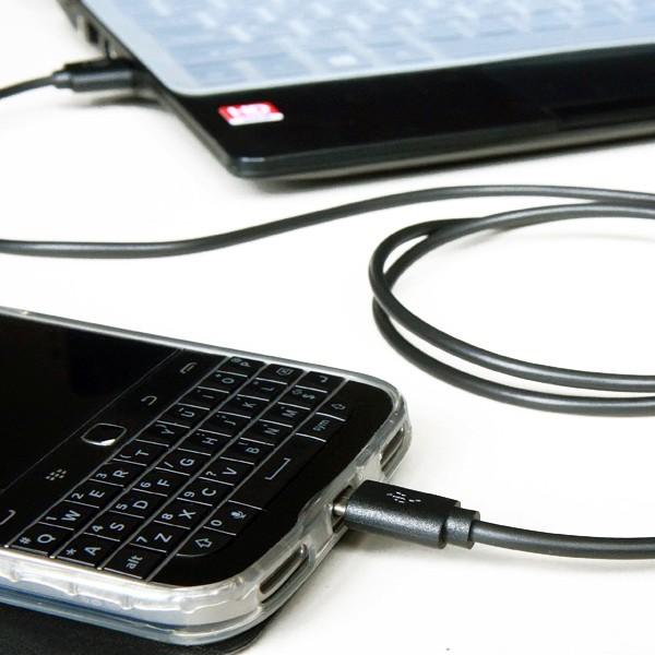MOGANICS Kabel Data & Charger Micro USB 120cm Hitam