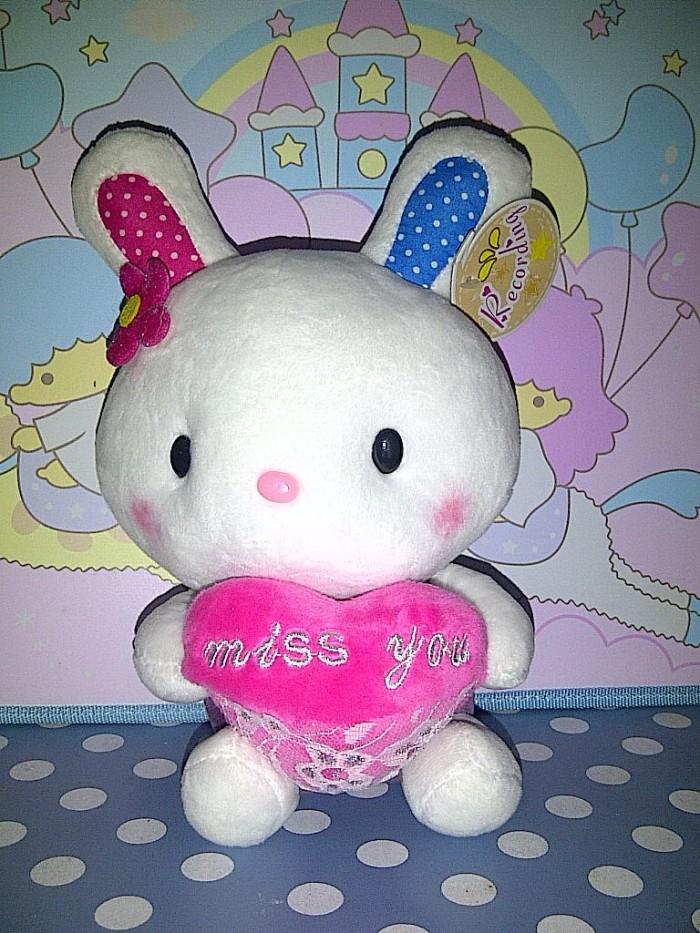 ... harga Boneka rekam suara kado animal rabbit bunny kelinci love miffy  melody Tokopedia.com 7becb8cecb