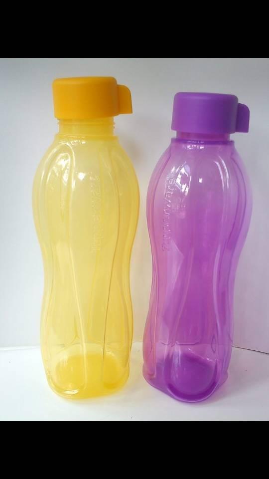 ... harga Eco bottle 1 l 1 set isi 2 yaitu botol air minum warna kuning dan