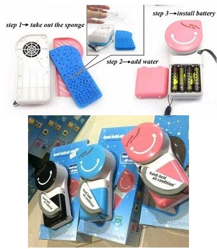 Jual Ac Genggam Mini Usb Handy Cooler Portable Kipas Angin