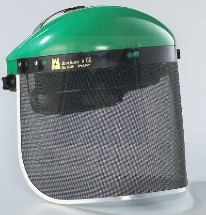 Steel mesh face shield  visor fc49pelindung wajah wire mesh