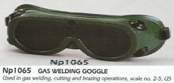Kaca mata lasgas welding goggle np1065