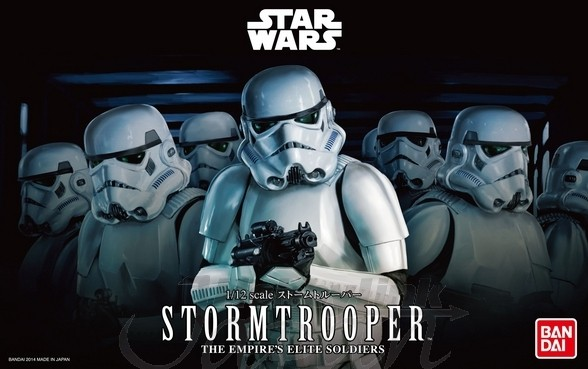 harga Bandai model kits 1/12 star wars stormtrooper Tokopedia.com