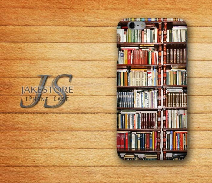 harga Bookcase rak buku iphone case  4 4s 5 5s 5c 6 6 plus hardcase Tokopedia.com