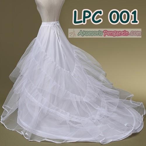 harga Petticoat wedding panjang berekor l rok dalaman gaun pengantin -lpc001 Tokopedia.com