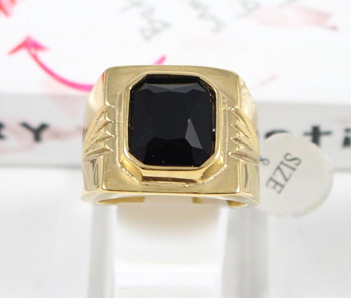 harga Cincin pria / cowok titanium batu onyx ct080 Tokopedia.com