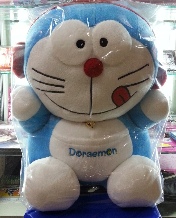 Boneka Doraemon Headset Jumbo BIG