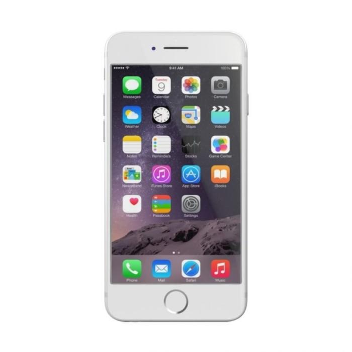 "APPLE IPHONE 6 16GB - SILVER - 4.7"" - GARANSI INTERNASIONAL 1 TAHUN"