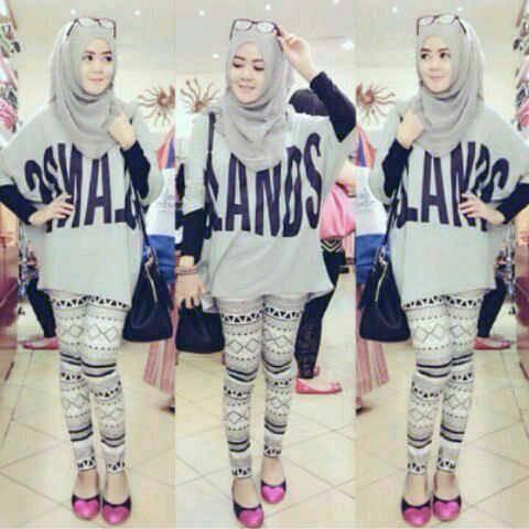 VV Set Gland Hijab 3in1