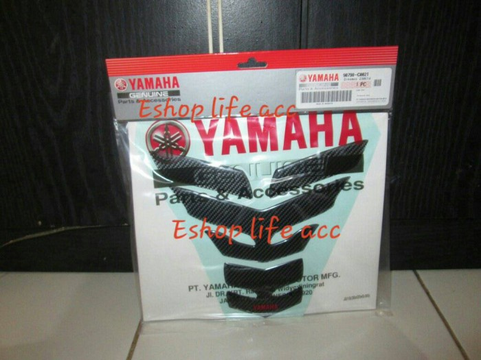 harga Tank pad kit aksesoris motor sport / laki original yamaha