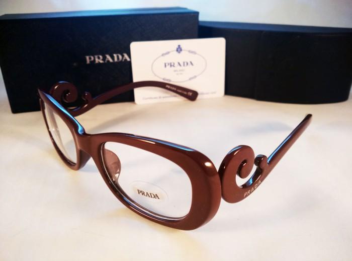 Jual Frame Kacamata Wanita   Cewe Prada Keong Coklat ... 76d4c591f7