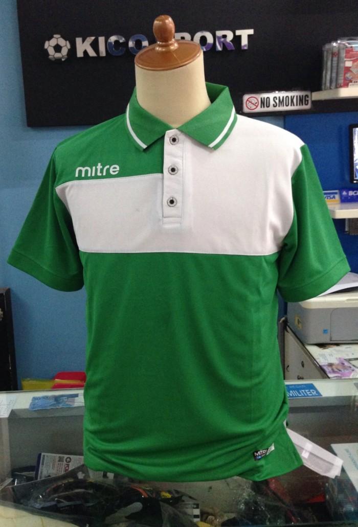 harga Kaos kerah polo t-shirt mitre matrix 2015 green original 100% murah Tokopedia.com