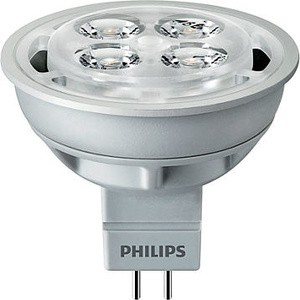 Jual HALOGEN LED PHILIPS 26W 12V PUTIH MR16 24D Lampu