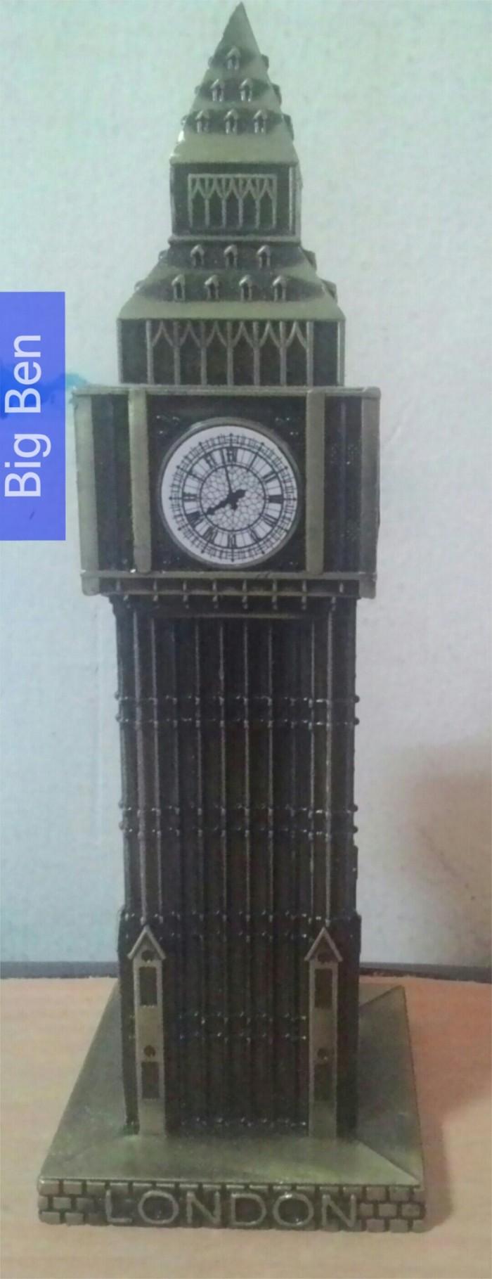 harga Miniatur menara london big ben - dark gold Tokopedia.com