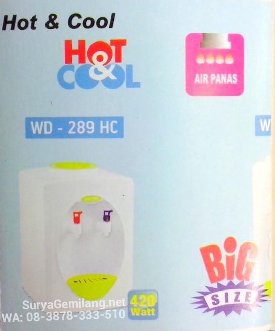 harga Dispenser meja miyako wd289hc panas dingin asli baru garansi resmi Tokopedia.com