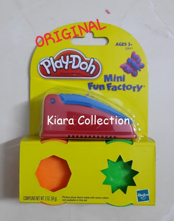 Cetakan PlayDoh Mini Fun Factory Pot Play Doh ORIGINAL (BUKAN FunDoh)