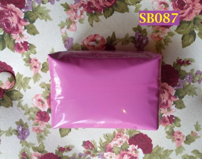 Foto Produk Amplop Plastik LDPE Warna Purple Ukuran 20 x 34 cm Untuk Shipping Bag dari Helfia Store