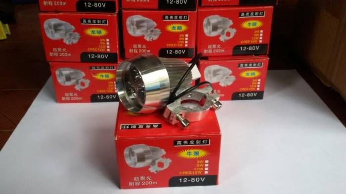 harga Lampu sorot tembak led cree 3 mata tambahan motor aksesoris variasi Tokopedia.com