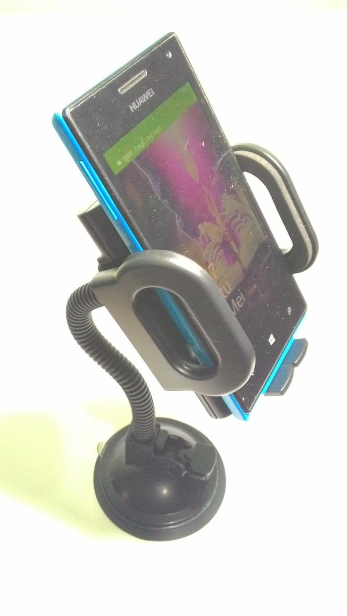 harga Car holder for mobile phone - tripod-4 - black Tokopedia.com