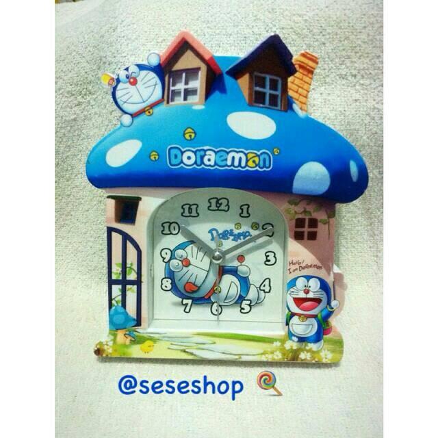 Jual Jam Alarm Doraemon Bentuk Rumah Seseshop Tokopedia