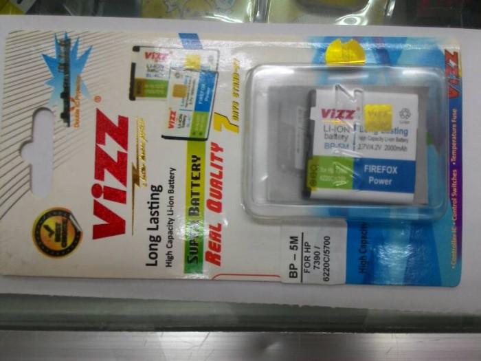 harga Baterai vizz double power nokia bp-5m bp 5m 2000mah 6220c 5700 7390 Tokopedia.com