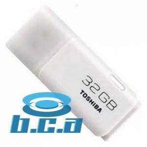 Foto Produk Flashdisk Toshiba Hayabusa 32GB Original Garansi Putih dari Brianna Com & Accesories