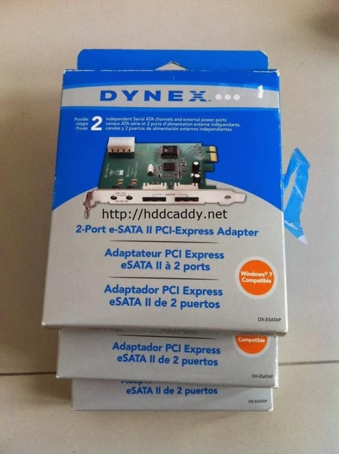 DYNEXTM 2-PORT ESATA II PCI EXPRESS ADAPTER DRIVER DOWNLOAD (2019)