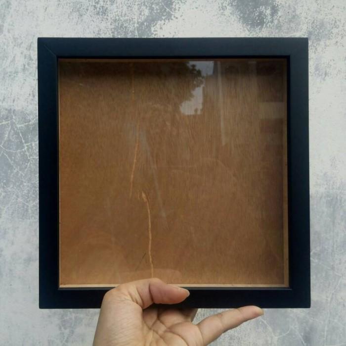 jual frame figura scrapbook 3d ukuran 20 x 20 scrapmoo tokopedia
