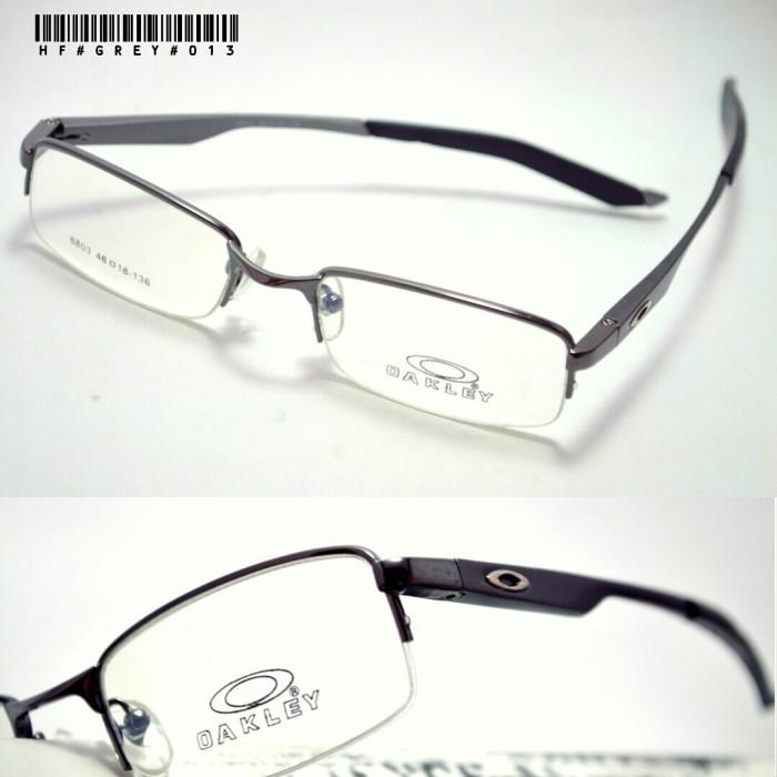 Jual frame kacamata oakley titanium dark grey - snick  o daisy ... bbaac9473a