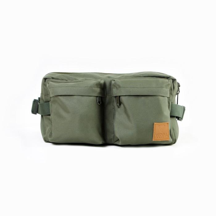 harga Tas pinggang hip pack cross body pria wanita murah- visval ryga forest Tokopedia.com