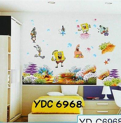 jual wall sticker 3 dimensi stiker dinding - alfi wallsticker