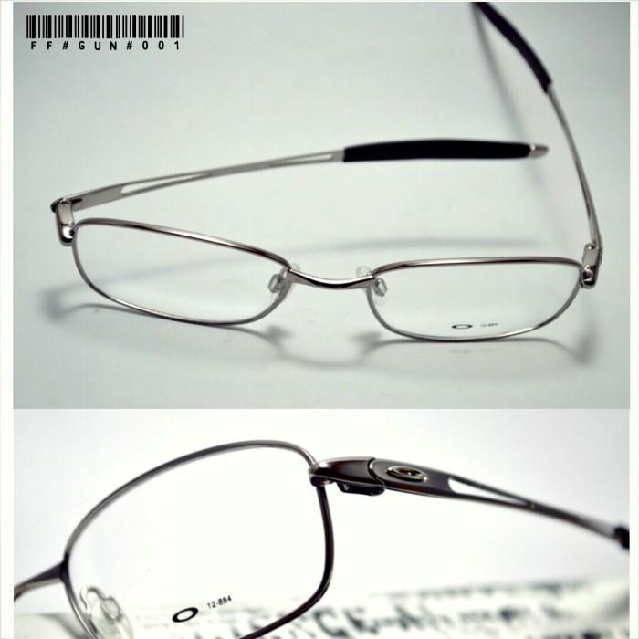 Jual frame kacamata oakley titanium silver metalic - snick  o daisy ... 4752ba1f15