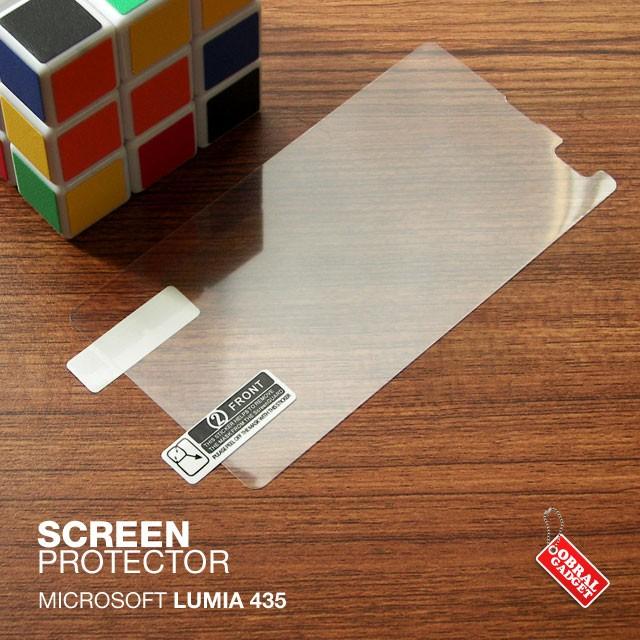 harga Microsoft lumia 435 anti gores antigores screen protector guard clear Tokopedia.com