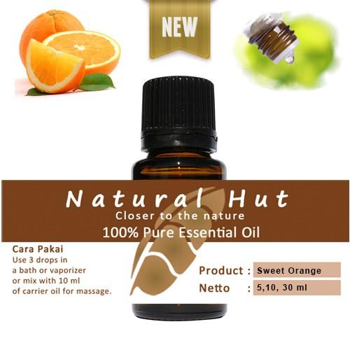 harga 100% pure essential oil (food grade sweet orange) - 5ml Tokopedia.com